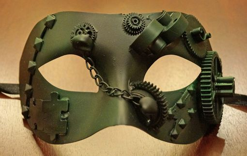 Camouflage Steam Punk Eye Mask