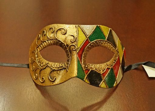 Capello Men's Venetian Masquerade Mask