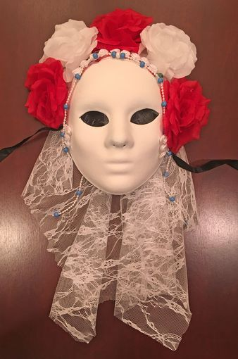 Catrina Day Of The Dead Mask