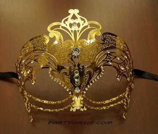 Cleopatra Lazer Cut Eye Mask Gold