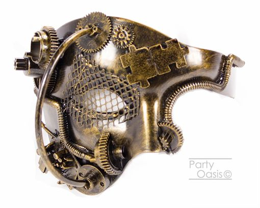 Consolidator Steam Punk Mask Gold