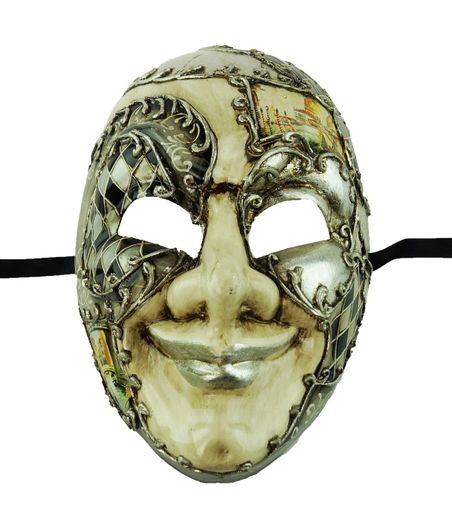 Coranus Jester Mask Grey