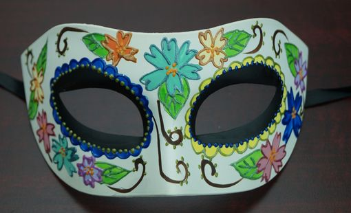 Women's Day Of The Dead Eye Mask Black Eye