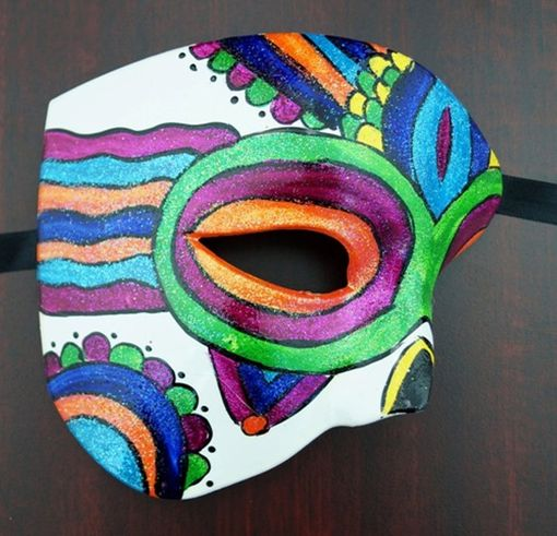 Day Of The Dead Festive Phantom Mask