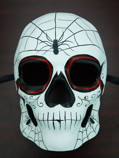Day Of The Dead Mask Spider
