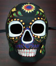 Day Of The Dead Mask Black