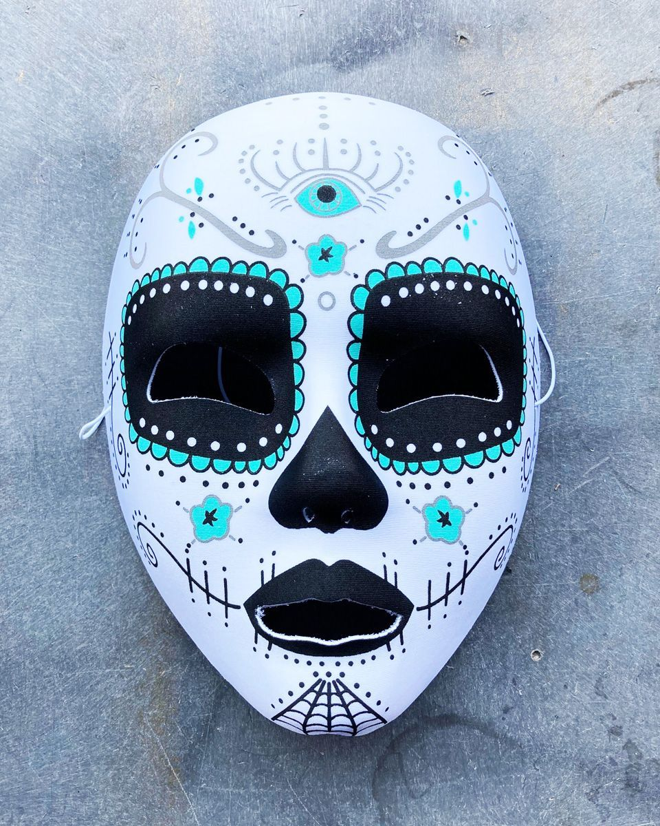 Day Of The Dead Mask Halloween Mask