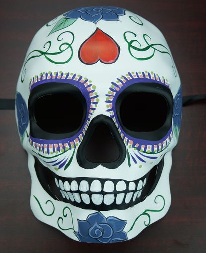 Day Of The Dead Mask White