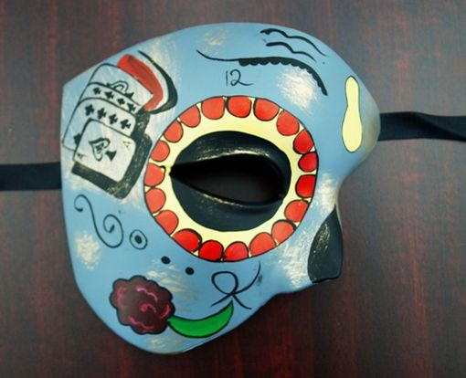 Day Of the Dead Phantom Card Mask