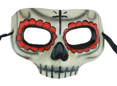 Day Of The Dead Skull Eye Mask