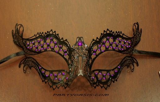 Dione Metal Mask Purple