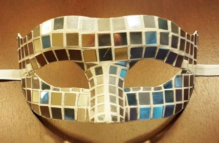 Disco Ball Eye Mask