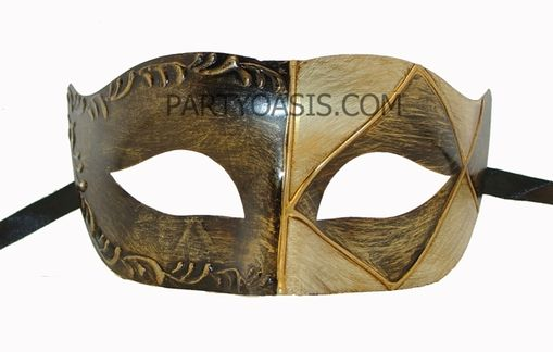 Domino Venetian Eye Mask