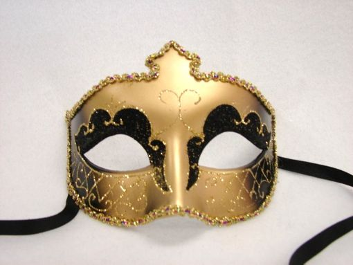 Egyptian Eye Mask Gold