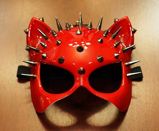 Electra Cat Mask Red