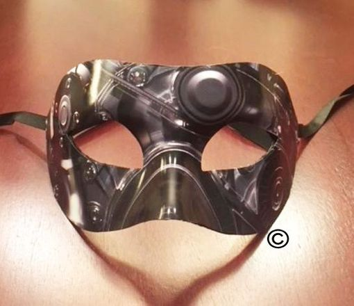 Europa Engine Masquerade Mask