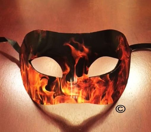 Fired Up Party Mask