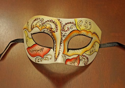 Europa Masquerade Mask Yellow