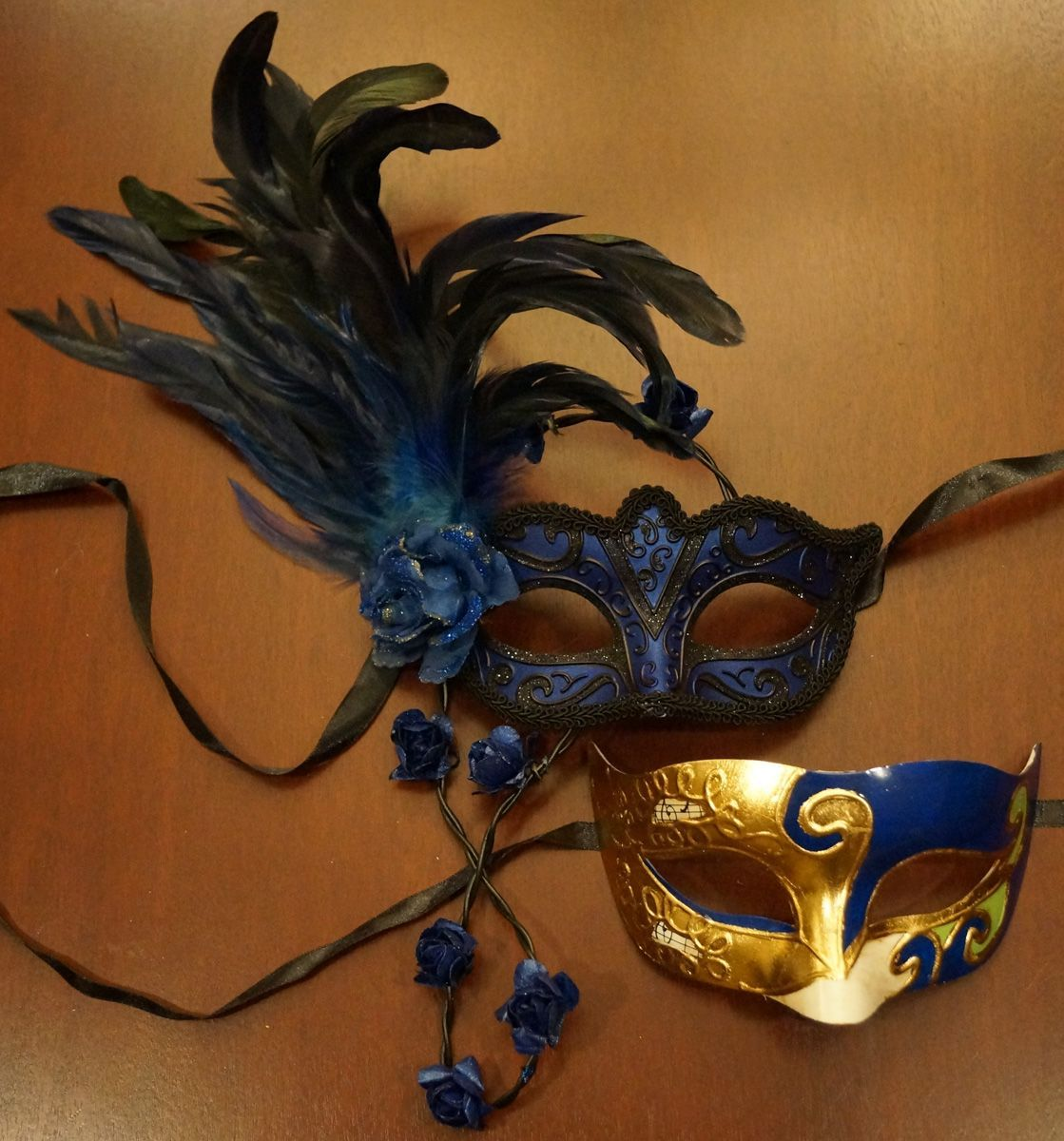 Exposure Couples Mask Set Blue