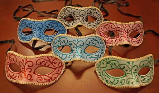 Faralina Venetian Eye Mask