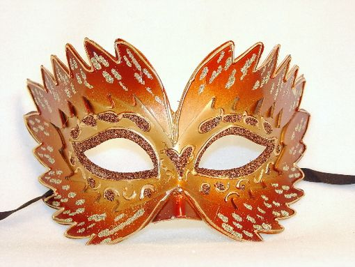 Masquerade Farfallina Ornage Eye Mask