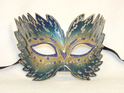 Masquerade Farfallina Blue Eye Mask