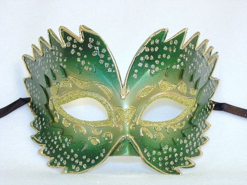 Masquerade Farfallina Green Eye Mask