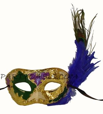 Fat Tuesday Masquerade Mask