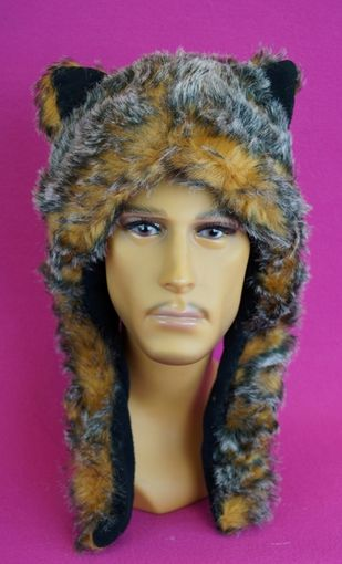 Faux Fur Hat with Ears