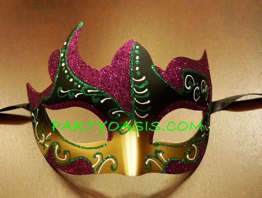 Festive Mardi Gras Eye Mask