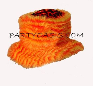 Furry Flame Hat