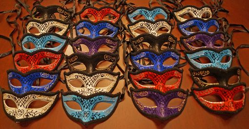 Galina Masquerade Mask Party Pack
