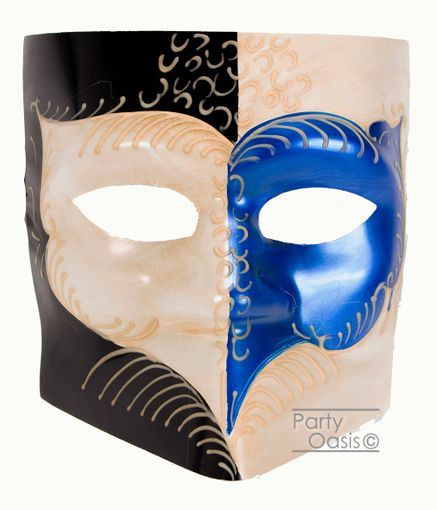 Men's Giorgio Bauta Mask Blue
