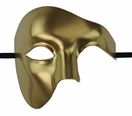 Gold Phantom Masquerade Mask