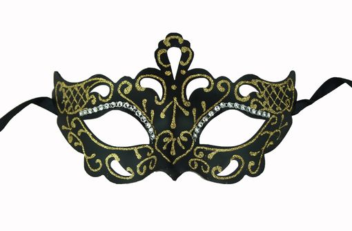 Gold Princess Masquerade Mask