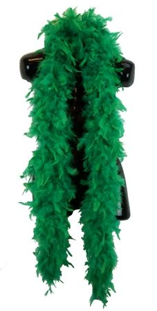 Green Feather Boa 70 Grams