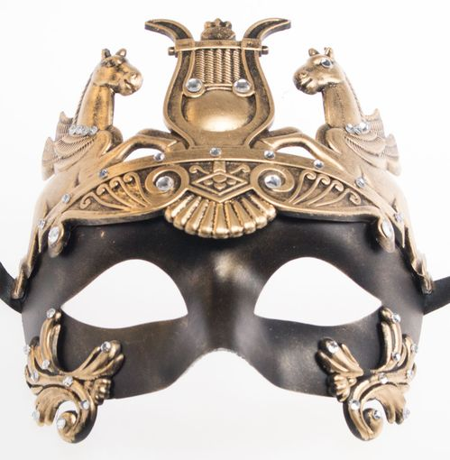 Hail Caesar Gold Mask