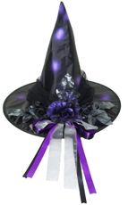 Hallo Eve Witch Hat Purple