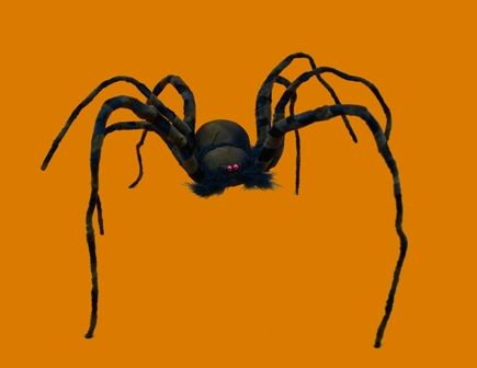 Halloween Jumbo Spider Decoration