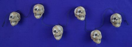 Halloween Mummy Skull Garland