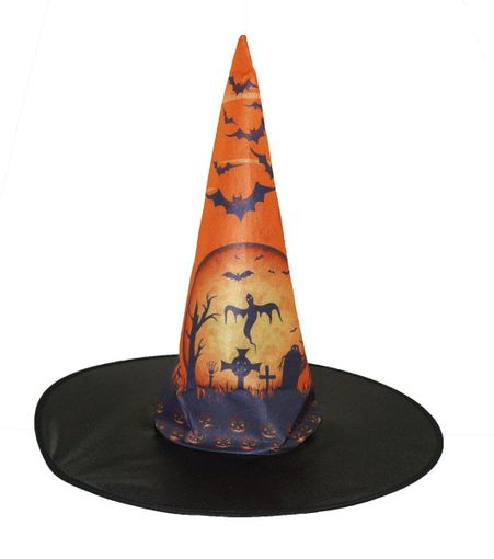 Halloween Night Witch Hat