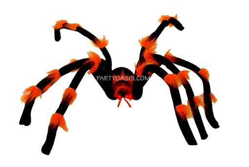Halloween Spider With L.E.D Lite Eyes