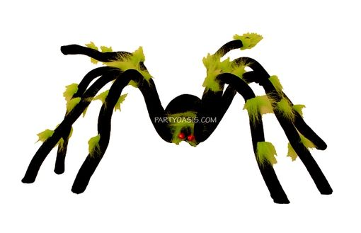 Halloween Spider With L.E.D Lite Up Eyes