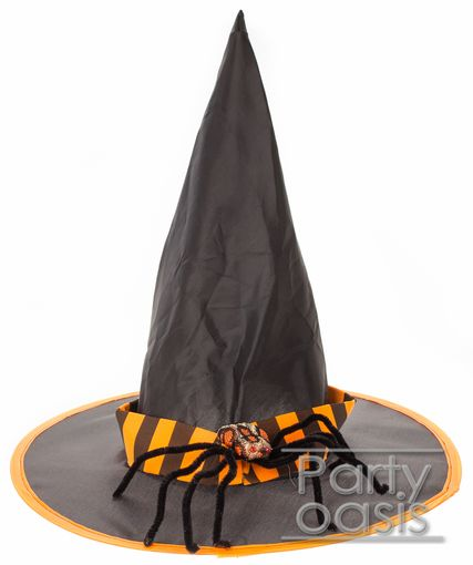 Halloween Witch Hat w/ Spider