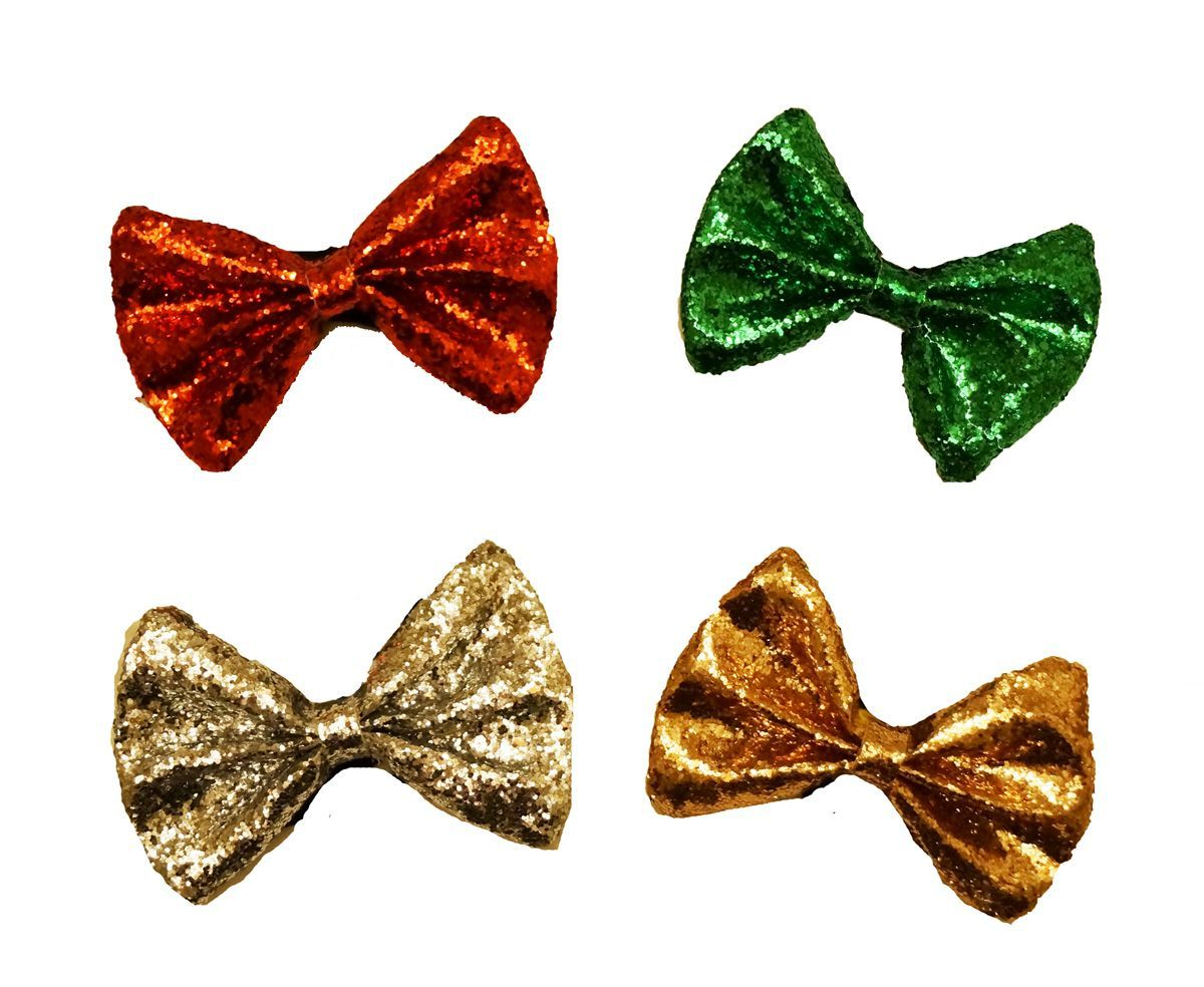 Holiday Christmas Party Bow Tie Set