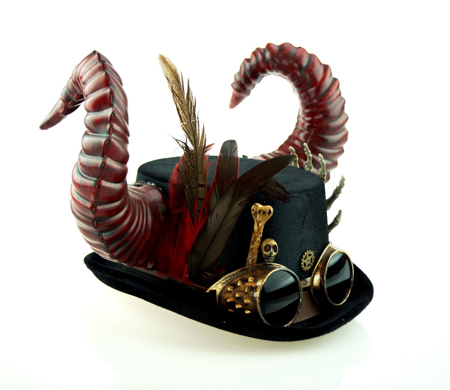 Horned Steampunk Hat