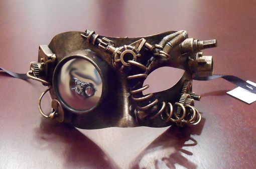 Hydra Steam Punk Eye Mask Gold