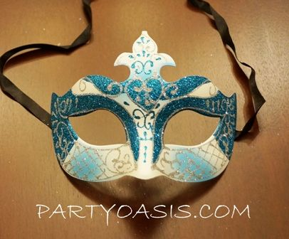 Ice Blue Princess Mask