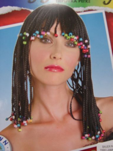 Indian Princess Wig with Beads