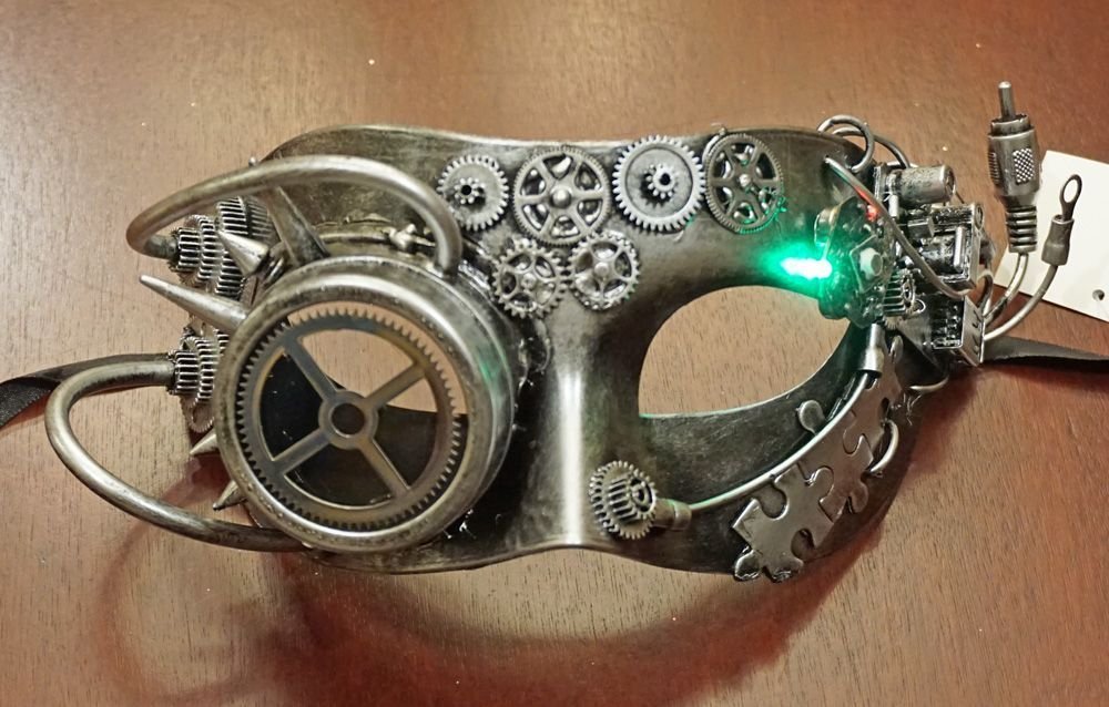 Industrial Mask Silver